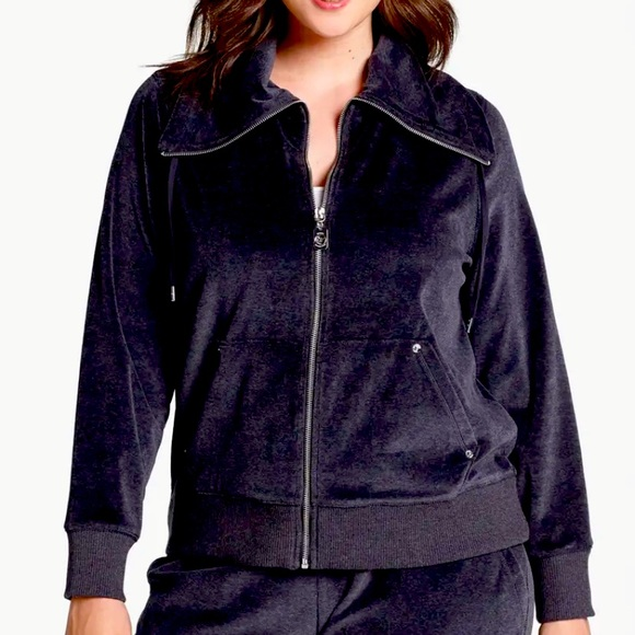 NEW—Michael Kors Velour Zippered Jacket & Pants